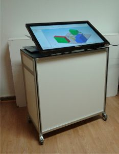 Touchmodul mit 32Zoll Topuch-Display