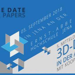 5. Mitteldeutsches Forum 3D-Druck in der Anwendung